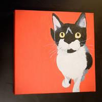 Black Cat by SophieArabella