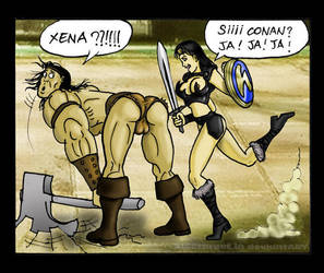 Conan -vs- Xena 4 by nicetarget