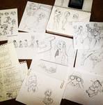 sketches by ingridochoa