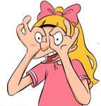 Helga's Googly Eyes by ingridochoa