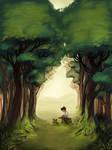 In The Woods by ingridochoa
