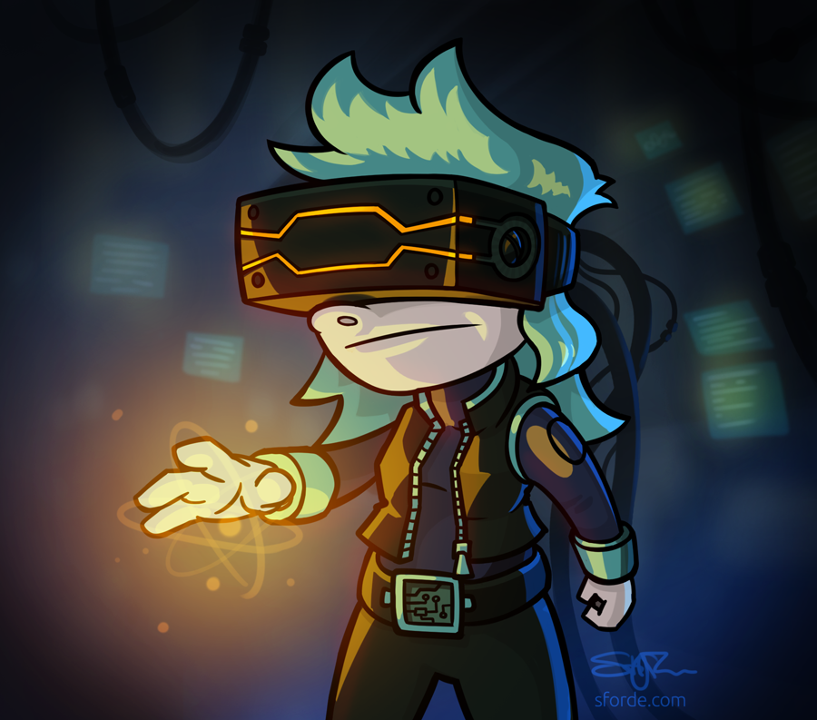 Jacked into VR by cairn4
