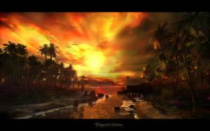 Tangerine Dream by Orikon