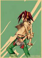Shaman King - Asakura Yoh by Tanashi