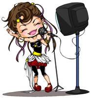 Karaoke Chibi by Tanashi