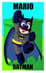 Mario-Batman by Polan-Kaede