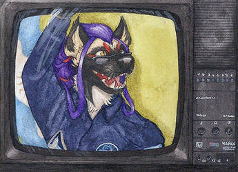 Knights of Skies ACEO by lynxfang-art