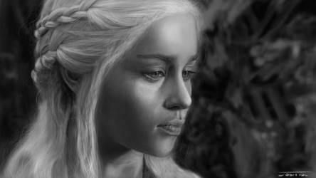 Daenerys Targaryan - Game of Thrones by Jabbled