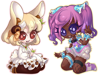 100 Chibi Raffle Prizes by Lady-Bullfinch