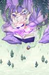 Dreaming reader YCH - oimayo by Lady-Bullfinch