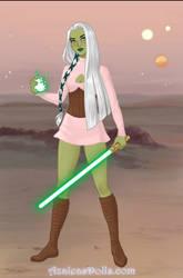Yoda's girl by lilbitludwig