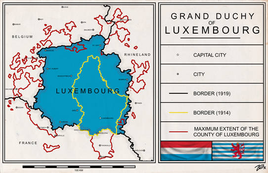 Greater Luxembourg by aroteer-jughashvili