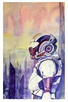 Commander Shepard - Illium by Fyerfly