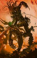 Spawn Vs. Predator by Sarafinconcepts