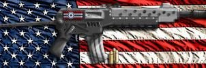 US Hompton Para-Rifle by Lord-Malachi