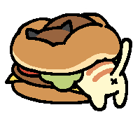 burger buddies by frosty-nekoatsume