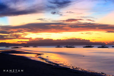 Bohol Sunrise by hktdesigns