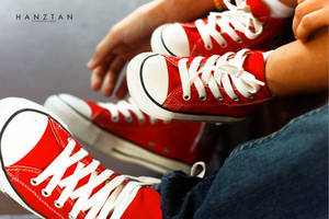 Red Chucks by hktdesigns