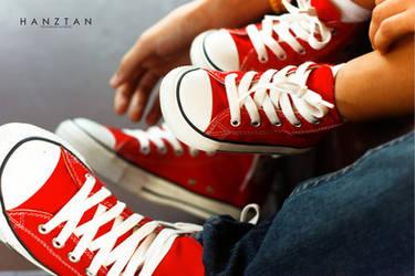 Red Chucks by hktdesigns