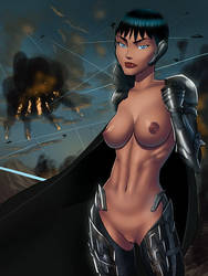 Faora DCAU style by SunsetRiders7