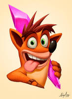Crash Bandicoot by Sommum