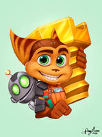 Ratchet and Clank by Sommum