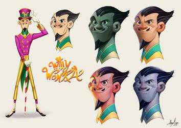 Willy Wonka by Sommum