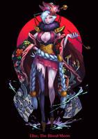 League of Legends Elise fanart by drogod