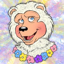 Beach Bear Doodle by Cavity-Sam