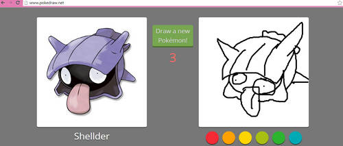 Pokedraw fail by The-Capricious-Clown