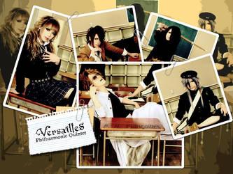 Versailles Philharmonic Quintet Wallpaper by BH-Fiancailles