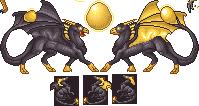 SPRITE: Firefly Dragons by JaziSnake