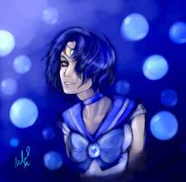 Sailor Mercury by DiamondReflection