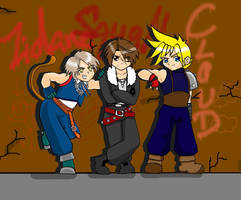 Kawaii Fantasy Guys by Arilysal