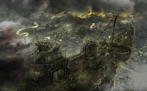 Steampunk Battleship by jbrown67