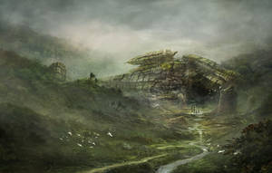 Ancient Spaceship by jbrown67