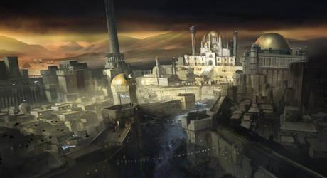 Turkish Fantasy City by jbrown67