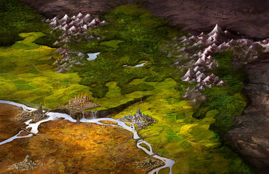 Fantasy Map by jbrown67