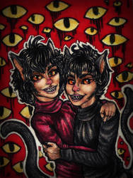 [AT] The evil kittens by xTheChildOfWinterx