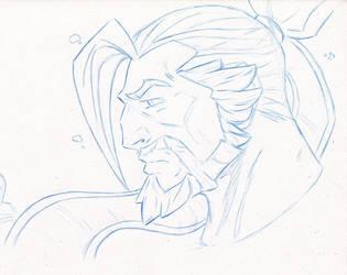 Hanzo Shimada by The-Sketch-Fox
