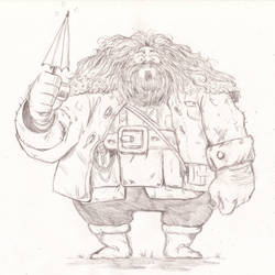 Harry Potter - Rubeus Hagrid by The-Sketch-Fox