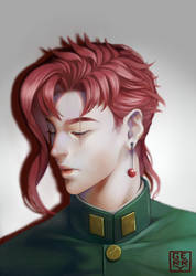 Kakyoin Noriaki (JJBA) by Rivaiye