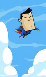 Happy Little Superman by thechrishaley
