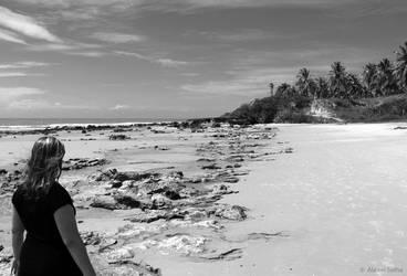 Beach Walk by AlexeiSolha