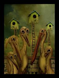 Urban Birds by AlexeiSolha