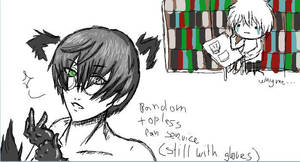 Silver Bullet Black Wolf iscribble2 by UmiHoshi