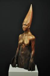 'just being' by JulieSwanSculpture