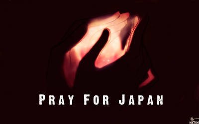 Pray For Japan by Katantoon