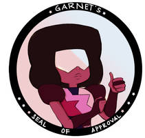Garnet's Seal of Approval by Katantoon
