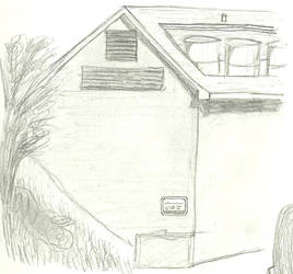 Building Sketch I by fox914